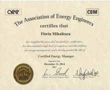 CEM ENERGY MANAGER Cristar Proiect.